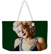 Marilyn 126 Green Weekender Tote Bag