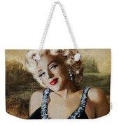 Marilyn 126 Mona Lisa Weekender Tote Bag