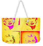 Marilyn Grew Up Weekender Tote Bag