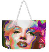 Marilyn Monroe 01 - Abstarct Weekender Tote Bag