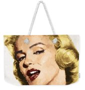 Marilyn Monroe 08 Weekender Tote Bag