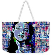 Marilyn Monroe 3 Loved.lost.loved Again Weekender Tote Bag