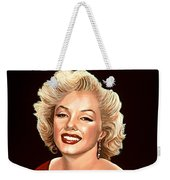 Marilyn Monroe 3 Weekender Tote Bag by Paul Meijering