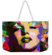 Marilyn Monroe - Abstract Weekender Tote Bag
