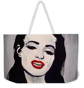 Marilyn Monroe Aka Norma Jean The Beginning Weekender Tote Bag