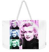 Marilyn Monroe Art Collage Weekender Tote Bag