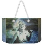 Marilyn Monroe At The Beach Weekender Tote Bag
