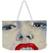 Marilyn Monroe Weekender Tote Bag by David Patterson