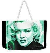 Marilyn Monroe - Green Weekender Tote Bag