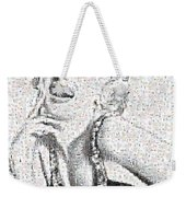 Marilyn Monroe In Mosaic Weekender Tote Bag