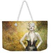 Marilyn Monroe In Points Weekender Tote Bag