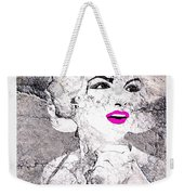 Marilyn Monroe Movie Poster Weekender Tote Bag