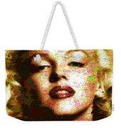 Marilyn Monroe Name Characters Weekender Tote Bag