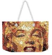 Marilyn Monroe On The Way Of Arcimboldo Weekender Tote Bag
