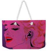 Marilyn Monroe Pop Art Weekender Tote Bag