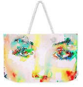 Marilyn Monroe Portrait.5 Weekender Tote Bag
