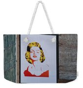 Marilyn Monroe Weekender Tote Bag by Rob Hans