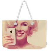 Marilyn Monroe Selfie 1 Weekender Tote Bag