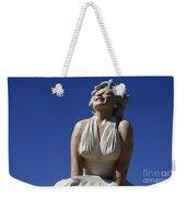 Marilyn Monroe Statue 2 Weekender Tote Bag