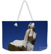 Marilyn Monroe Statue 3 Weekender Tote Bag