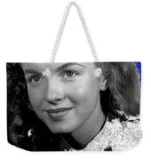 Marilyn Monroe Then Norma Jeane Dougherty Photo By H. Maier Studios Los Angeles Ca C.1943-2014 Weekender Tote Bag