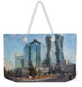 Marilyn Monroe Towers Weekender Tote Bag