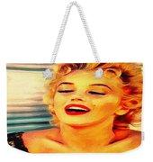Marilyn Monroe Tribute Silked Curves Weekender Tote Bag