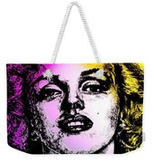 Marilyn Monroe Under Spotlights Weekender Tote Bag