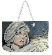 Marilyn Monroe - Unfinished Weekender Tote Bag