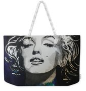 Marilyn Monroe..2 Weekender Tote Bag by Chrisann Ellis
