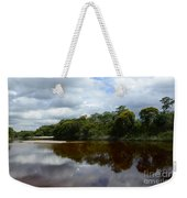 Marimbus River Brazil Reflections 4 Weekender Tote Bag
