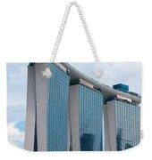 Marina Bay Sands Hotel 01 Weekender Tote Bag