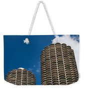 Marina City Morning Weekender Tote Bag