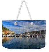marina in Porto Azzurro Weekender Tote Bag