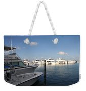Marina Key West - Harbored Fun Weekender Tote Bag