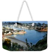 Marina Overlook Weekender Tote Bag