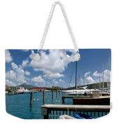 Marina St Thomas Virgin Islands Weekender Tote Bag