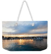 Marina Sunrise 1 Weekender Tote Bag by Jim Thompson