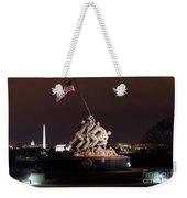 Marine Corps War Memorial Weekender Tote Bag