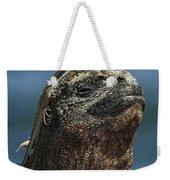 Marine Iguana And Lava Lizard Weekender Tote Bag
