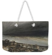 Marine Terrace In Jersey Weekender Tote Bag by Victor Hugo