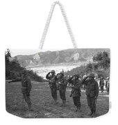 Marines Of The 5th Marine Regiment Weekender Tote Bag