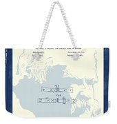 Mark Twain Patent Weekender Tote Bag