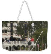 Mark Twain Riverboat Frontierland Disneyland Vertical Weekender Tote Bag
