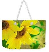 Mark Twain's Sunflowers Weekender Tote Bag