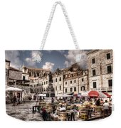 Market Day In The White City Weekender Tote Bag