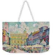 Market Of Verona Weekender Tote Bag