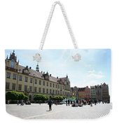 Market Place Wroclaw Weekender Tote Bag