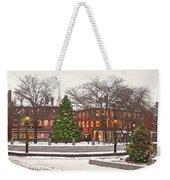 Market Square Christmas - 2013 Weekender Tote Bag