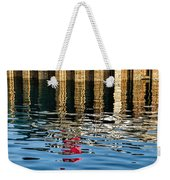 Marking The Tides Weekender Tote Bag